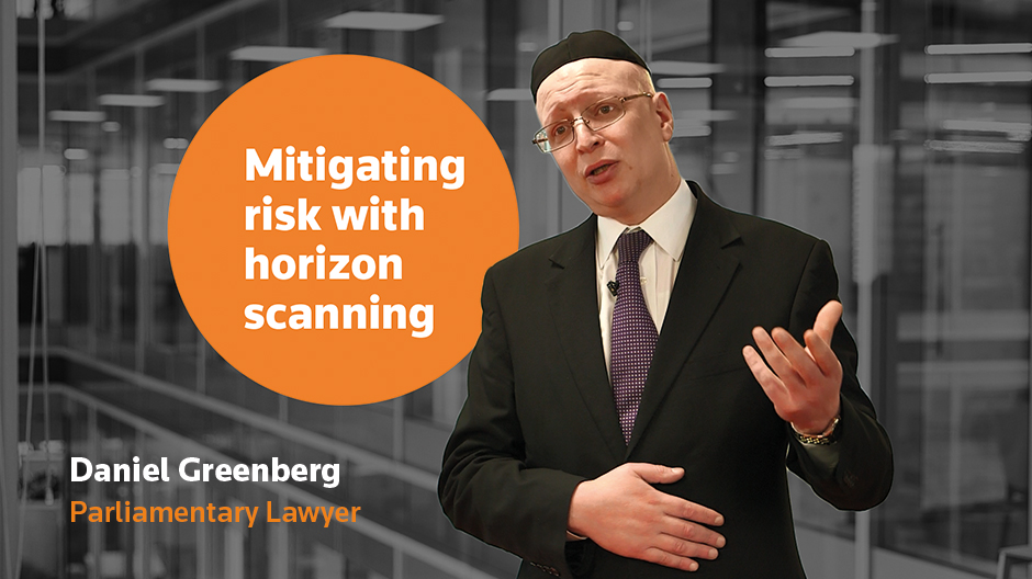 Mitigating risk with horizon scanning