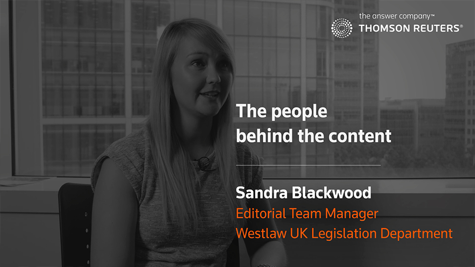 Westlaw UK - Spotlight on Legislation