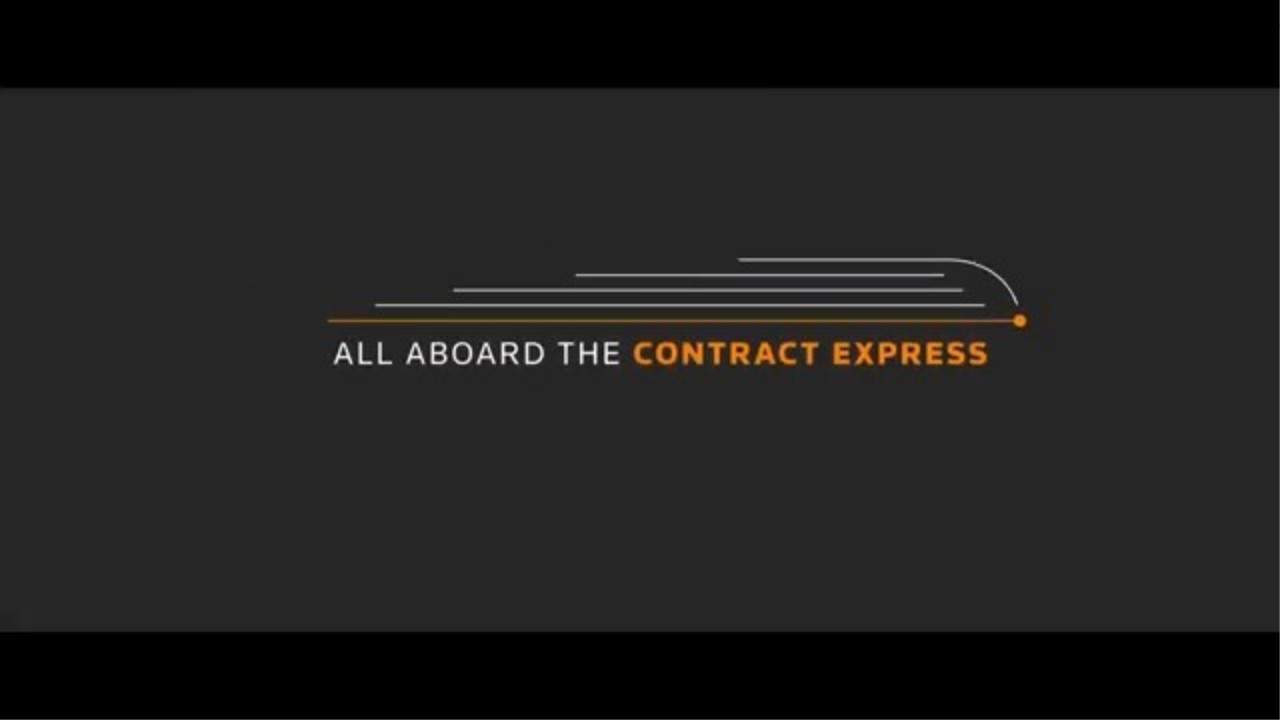 All aboard the Contract Express