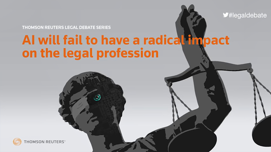 AI will fail to have a radical impact on the legal profession