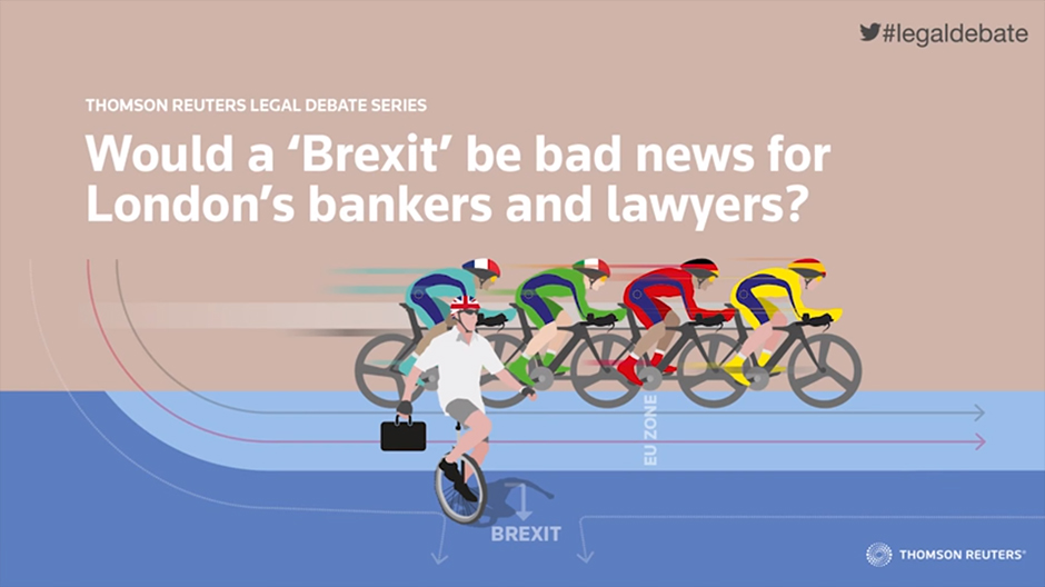 Would a 'Brexit' be bad news for London's bankers and lawyers?