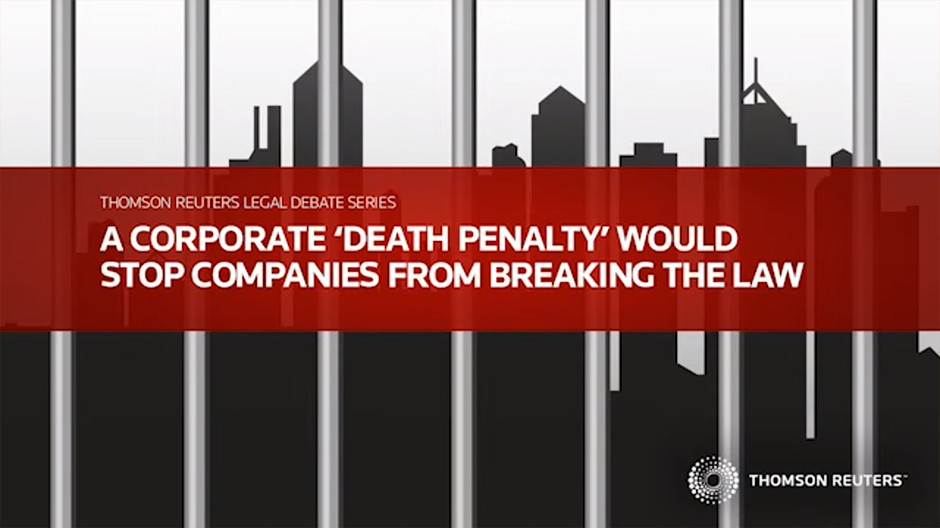 Corporate Death Penalty Would Stop Companies From Breaking the Law