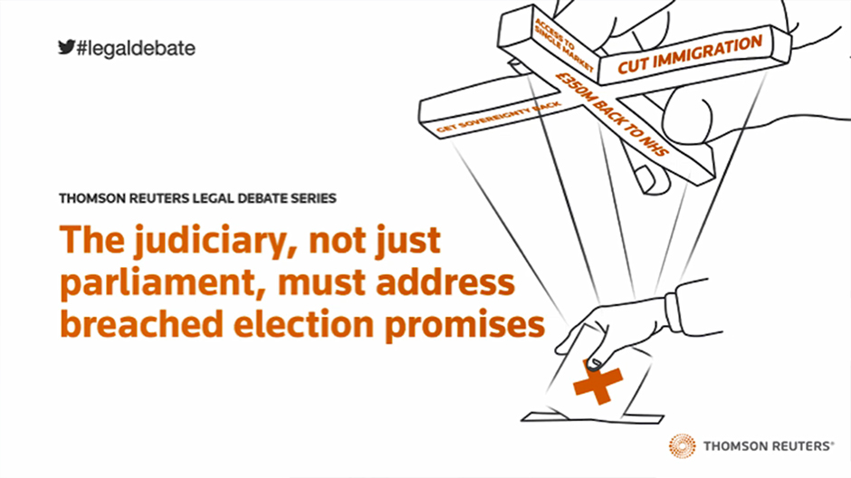 The judiciary, not just parliament, must address breached election promises