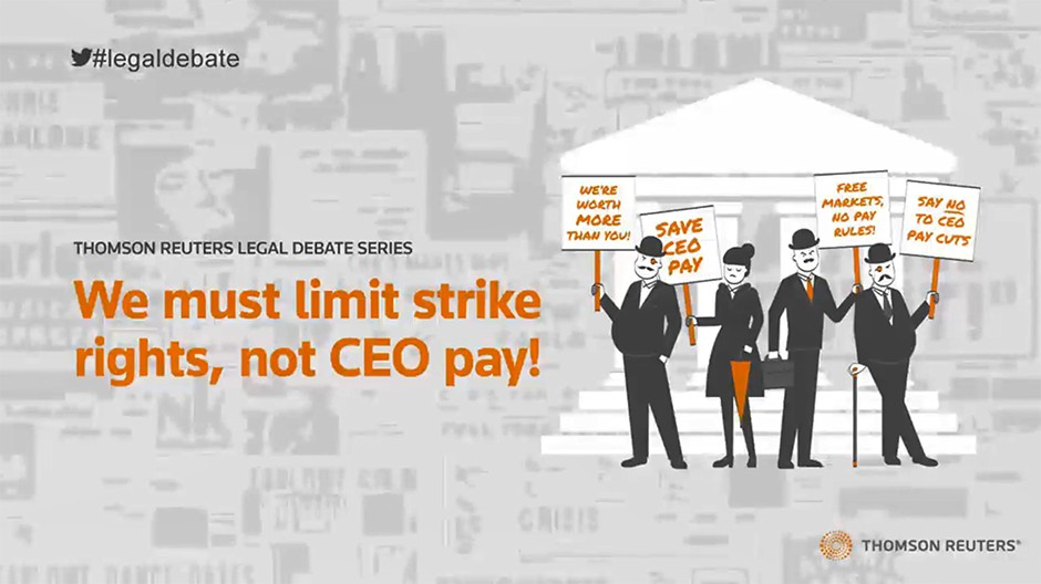 We must limit strike rights, not CEO pay!